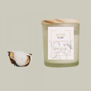 CANDLE | COTTON FLOWER