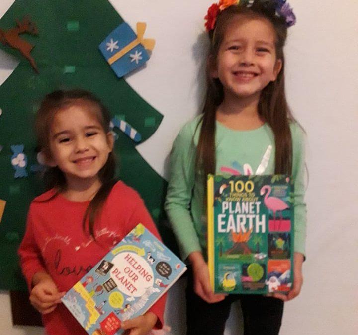 Teaching environmental sustainability to kids through the love of books!