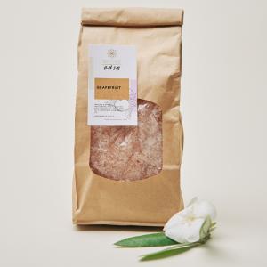 BATH SALT / SHOWER SCRUB | GRAPEFRUIT (500g)