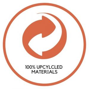 100% Upcycled Materials
