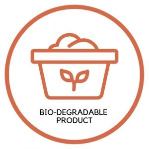 Bio-degradable product