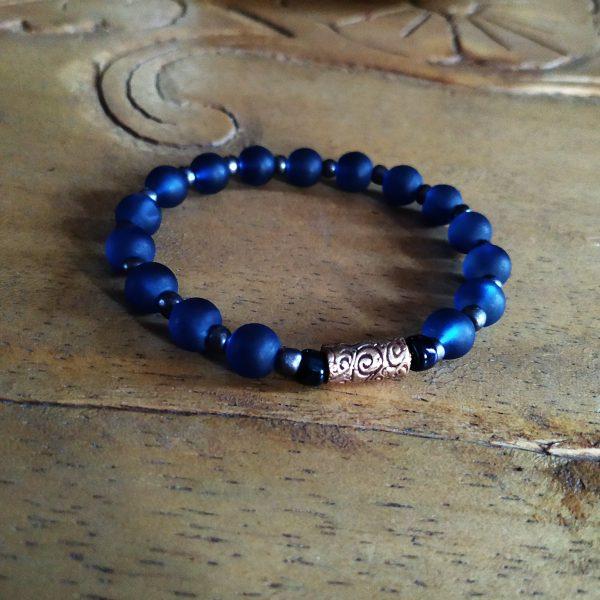 Men's Blue Bracelet