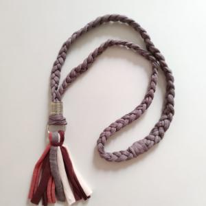 Hippie tassel necklace handmade gift for best friend