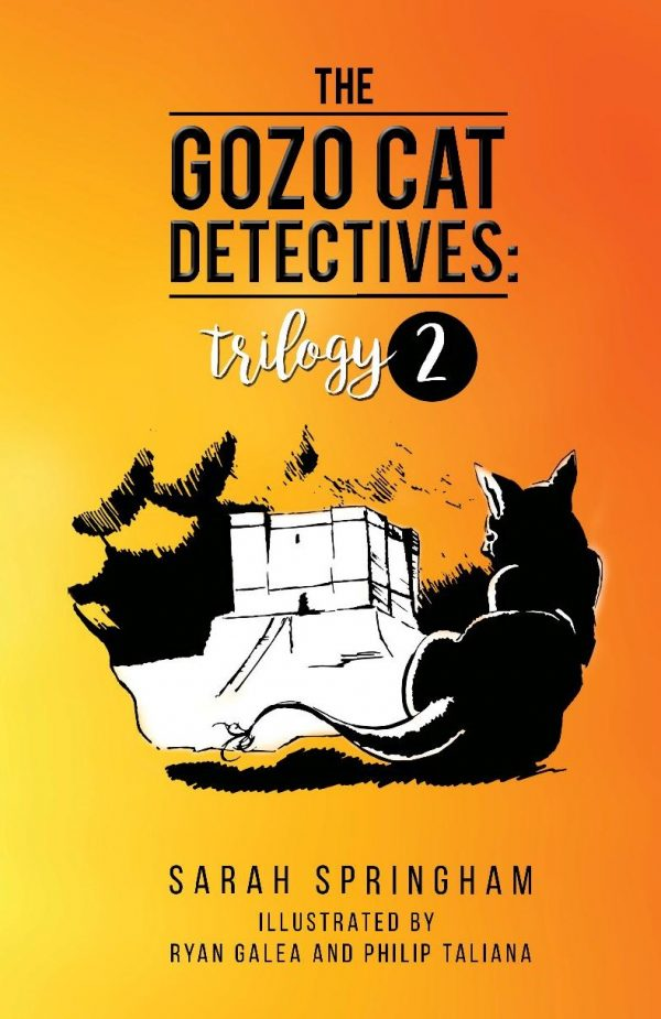 The Gozo Cat Detectives: Trilogy 2 cover