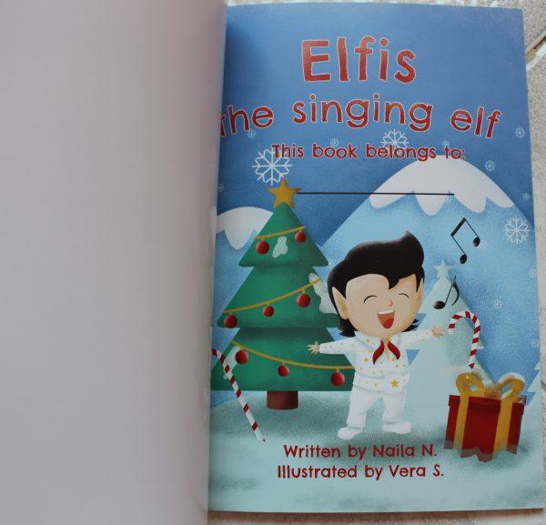 Elfis the Singing Elf cover